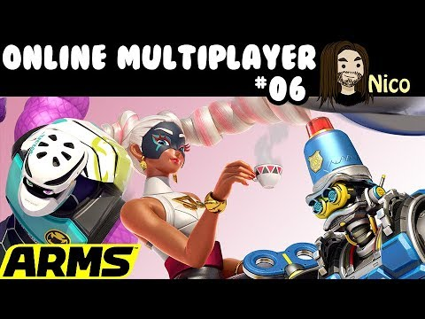 ARMS ★ ONLINE MULTIPLAYER - Community Livestream - SW-7391-7318-7509 ★ [ger] [Switch] #06