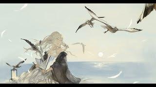 Аниме клип- А мы летим вместе с птицами..