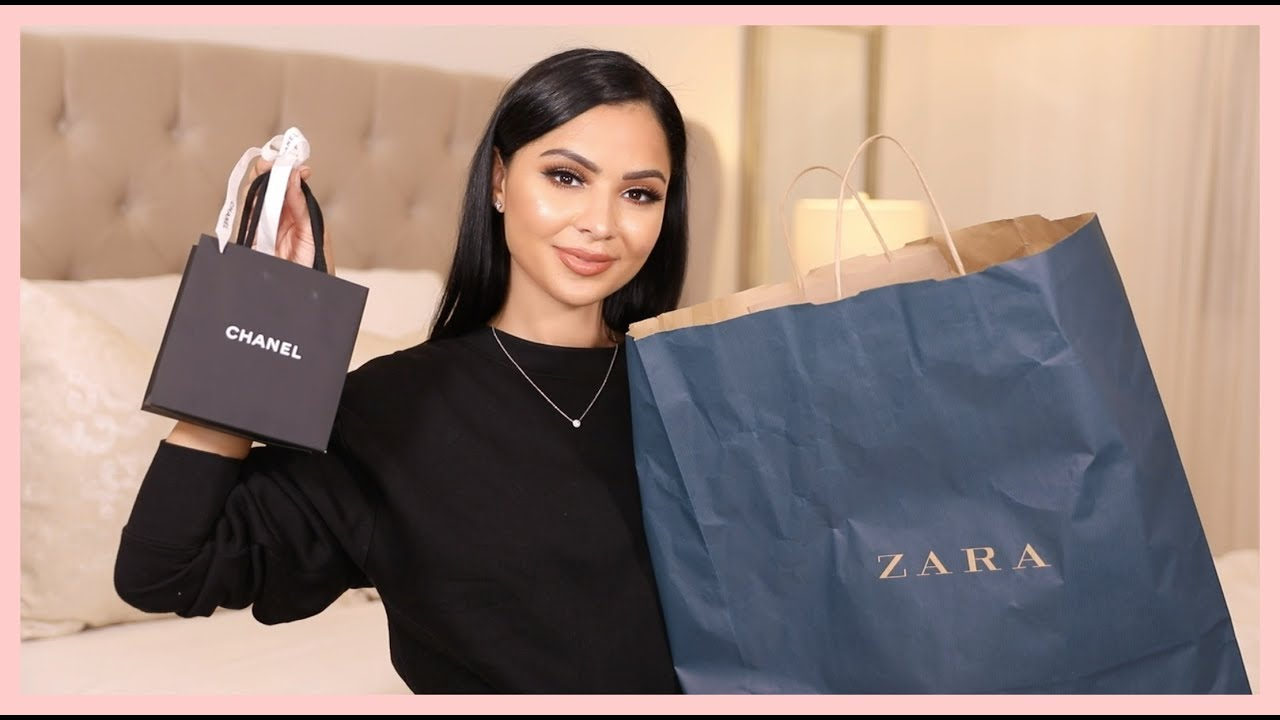 [VIDEO] - ZARA Fall Clothing Haul + Unboxing My New Chanel Purchase 9