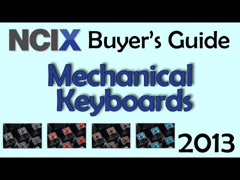 Mechanical Keyboards 2013 - Buyer's Guide