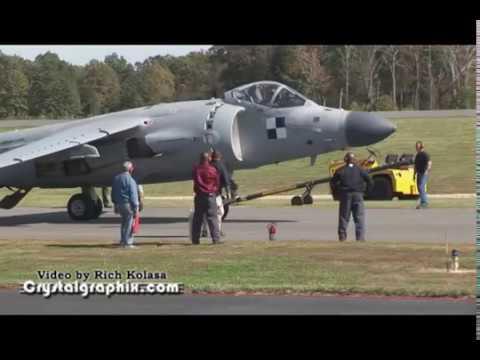 Art Nalls Privately-owned Sea Harrier debut