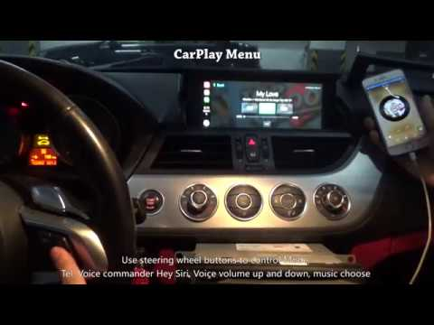 How To Install Carplay For 2012 Bmw Z4 Cic Navi System