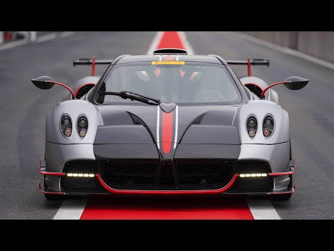 The Pagani Huayra Roadster BC sets a new lap record at Spa Francorchamps