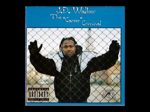 "J.D. Walker - The ""Career"" Criminal (1995 / Hip Hop / Gangsta)"