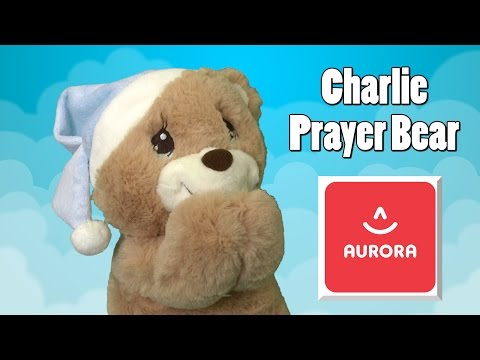 Charlie Prayer Bear from Aurora