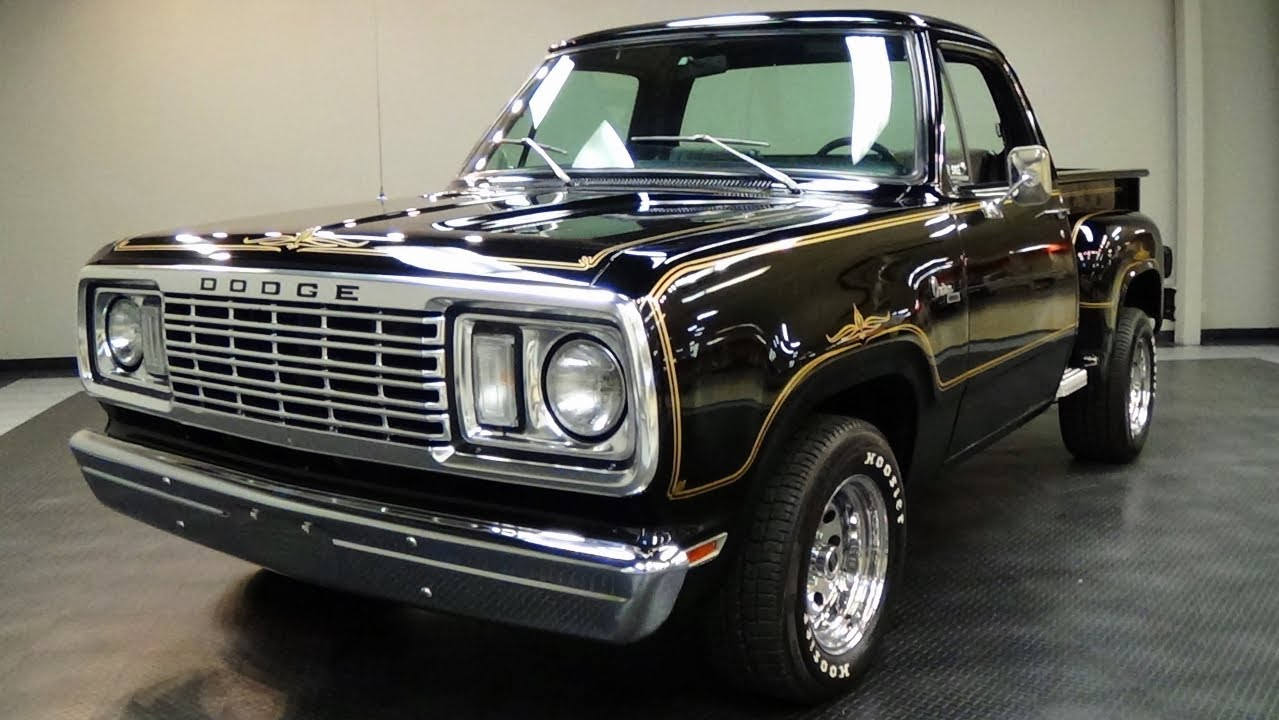 1978 Dodge Warlock Pickup V8 - Mopar Muscle Truck - YouTube
