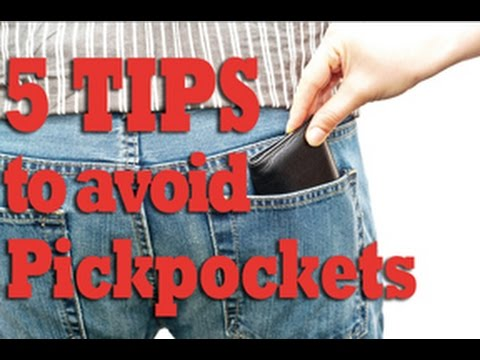 5 Tips to avoid Pickpockets - YouTube