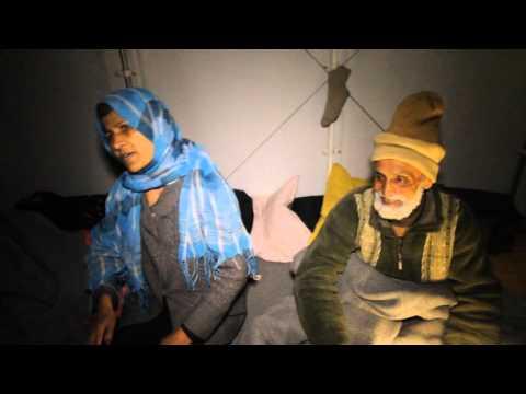 Inside Lesbos Refugee Camp - Lesbos Greece- Refugee Crisis