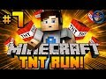 """Minecraft TNT RUN - Mini Games w/ Ali-A #7 - """"IS HE A HACKER?!"""""""