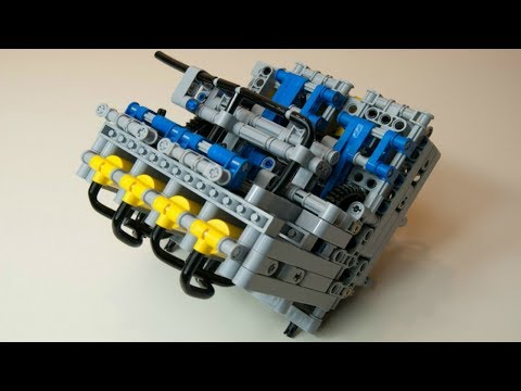 Top 10 MOST AMAZING LEGO Mini Engines Starting Up And Running [COOL]