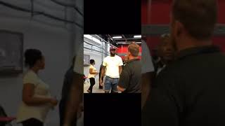 LeBron James has arrived for some Los Angeles Lakers NBA Summer League action 🏀