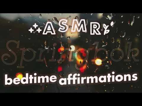 ASMR Bedtime Affirmations