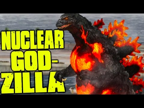 Godzilla - NUCLEAR BURNING GODZILLA & OTHER EPIC MONSTERS, KAIJU - (Godzilla Gameplay)