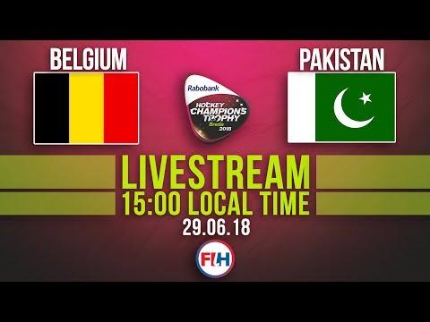 Belgium v Pakistan | 2018 Men's Hockey Champions Trophy | FULL MATCH LIVESTREAM thumbnail