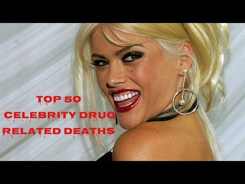 Top 50 celebrity drug related deaths (1939-2014)