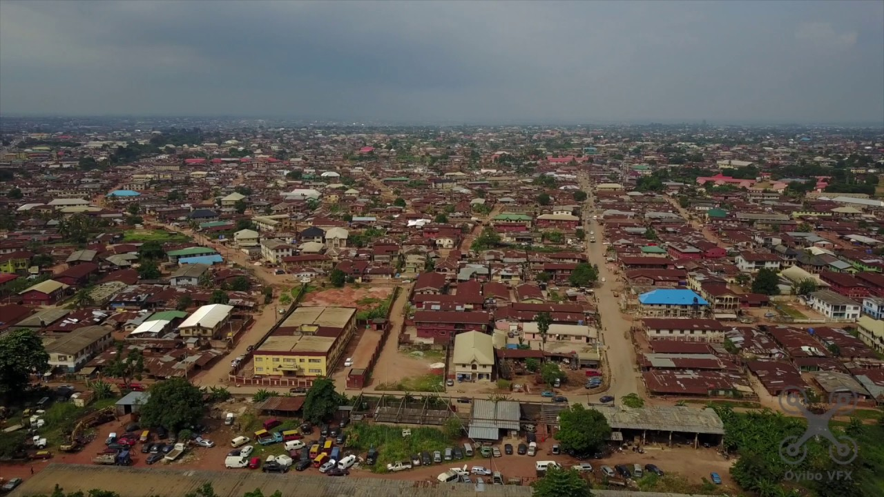 Mavic Pro Flight over Benin City Part 2 - YouTube