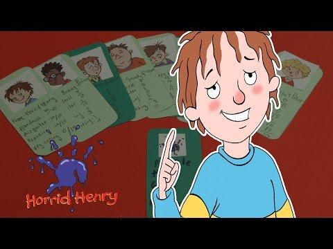 Horrid Henry: Make a Purple Hand Gang Membership Card