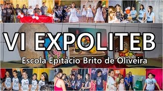 Escola Epitácio Brito homenageia artistas chavalenses na VI EXPOLITEB | Tv Chavalzada
