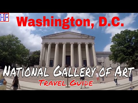 Washington, D.C | National Gallery of Art | Tourist Attractions | Episode# 9