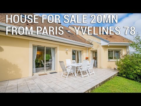 Only 20 min from Paris! Modern architect house for sale in the Yvelines - Ref.: 102293BTX78