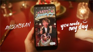 ANSONBEAN - you made my day (Official Music Video)