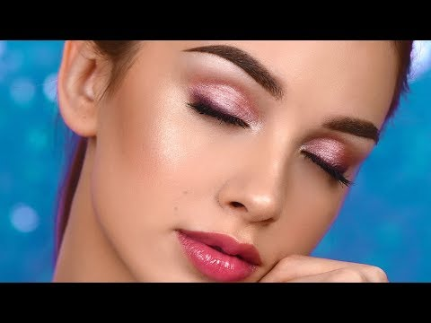 Pink Everyday Smokey Eye – Glowy Summer Makeup Tutorial