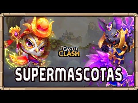 Las SUPERMASCOTAS *GUÍA* | Castle Clash