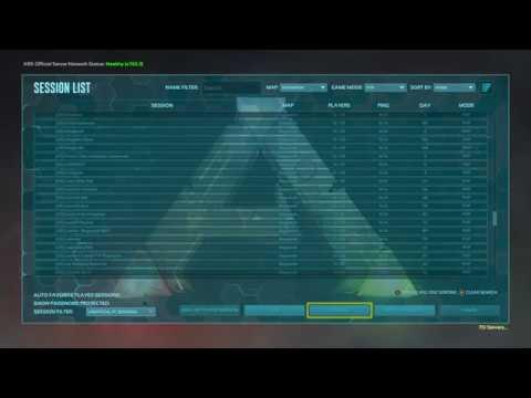 Ark xbox pc dedicated server list x