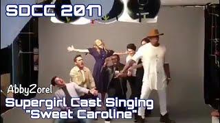 SDCC 2017: Supergirl Cast Singing