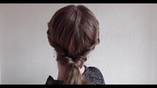 カジュアルなヘアアレンジ。3分で出来る簡単ねじりハーフアップ thumbnail