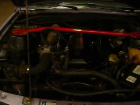 Opel monza 30NE running on LPG