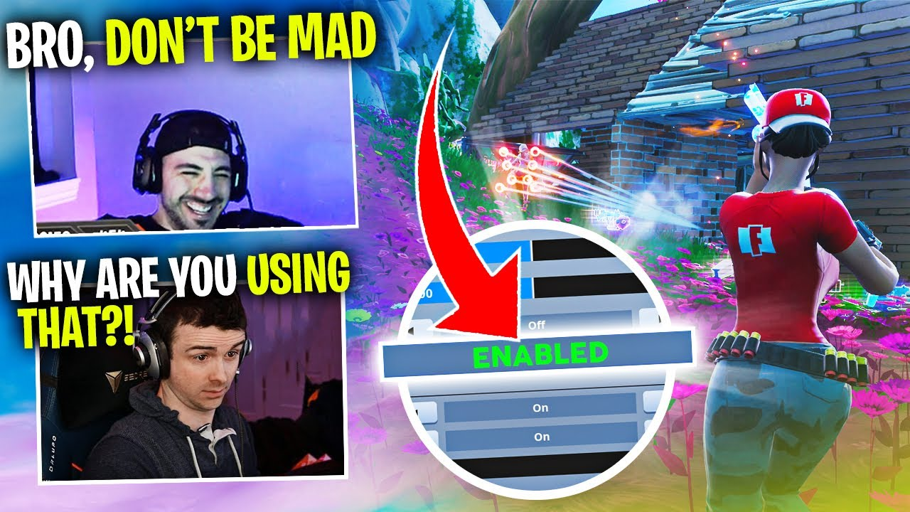 Dr Lupo ROASTED ME For Using THIS Setting   (Fortnite Battle Royale)