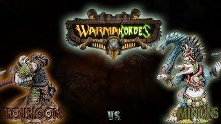 Warmachine & Hordes - Trollbloods (E-Madrak) vs. Minions (Jagga Jagga) - 50pt Battle Report