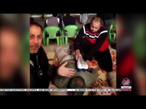 "Exclusive report Free Massage in ""Najaf to Karbala Walk"" with baqar zaidi"