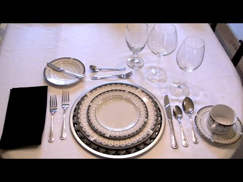 The Correct Table Setting - Ep3 part3 & The Correct Table Setting - Ep3 part3 - YouTube