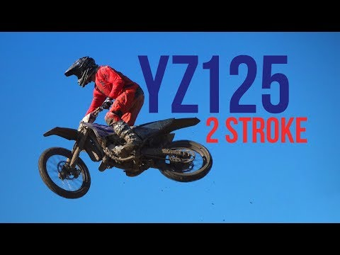 2018 YAMAHA YZ125 2 STROKE RAW SOUND!!!