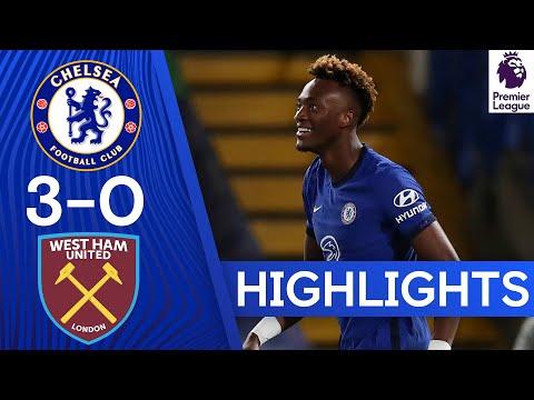 Chelsea 3-0 West Ham United | Thiago Silva & Tammy Abraham Score to Claim Derby Victory | Highlights