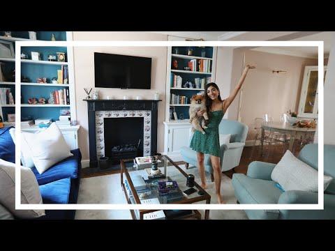 MY LIVING ROOM TOUR! + Kitchen + Dining Room | HOME TOUR |  Amelia Liana