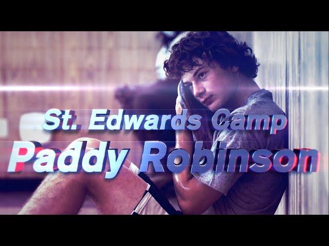 """Patrick """"Paddy"""" Robinson at St. Edwards Camp"""
