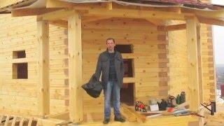 видео Д-79 Каркасный дом размером 8x9 м