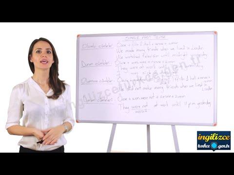 İngilizce Geçmiş Zaman (Simple Past Tense) - İngilizce Dersleri