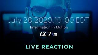 Lançamento SONY A7sIII - LIVE REACTION