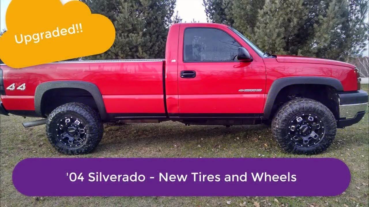 2004 Chevy Silverado 2500hd New Wheels And Tires