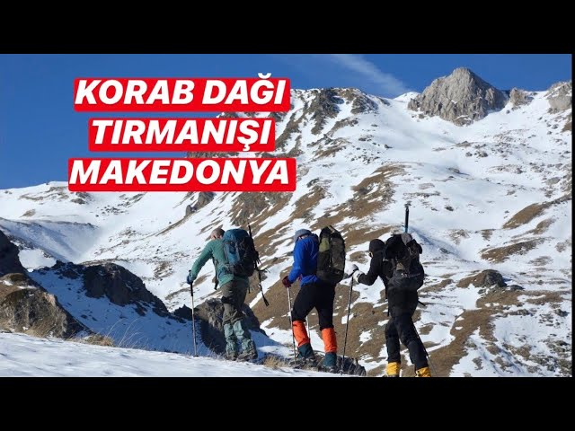 Mount Korab Winter Climbing, Macedonia (with English subtitles) / Korab Dağı Tırmanışı, Makedonya