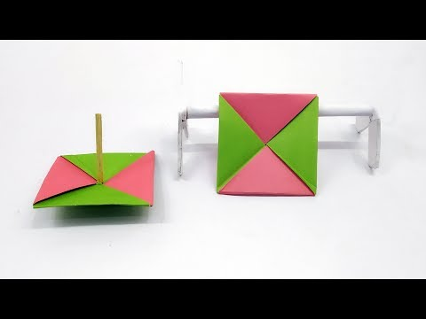 DIY Magic Paper Spinner | How To Make A Paper Fidget Spinner WITHOUT BEARINGS | Origami Ninja Star