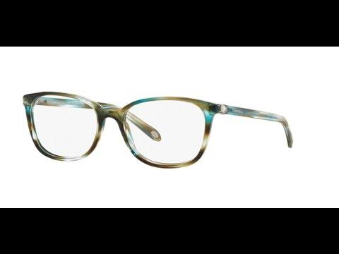 Tiffany 2109HB Eyeglasses 8124 OCEAN TURQUOISE - YouTube