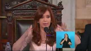 Visión 7 - Apertura de sesiones ordinarias: discurso de la Presidenta