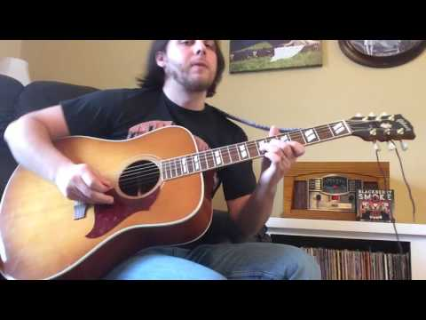 Free On the Wing - Blackberry Smoke cover - Acoustic Solo