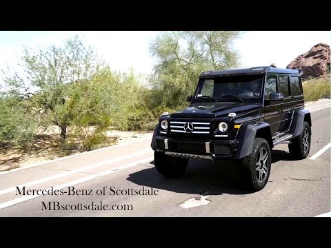 G Class Squared 2017 Mercedes Benz G550 4x4 Squared From Mercedes