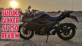 2019 SUZUKI GIXXER SF 250 REVIEW | PRICE | MILEAGE | TOP SPEED